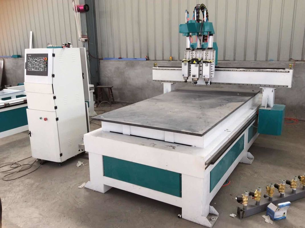 Industrial Woodworking CNC Machine 1325 / Wood Carving Machine With Mach3 Controller